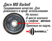 Диск MB Barbell